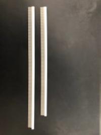 Комплект резинок на щетку-сопло (насадку) для промышленного (строительного) пылесоса Kiekens