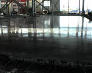 Монолитная железобетонная плита с упрочненным верхним слоем (топпинг)